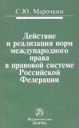 Действие и реализация норм международного права в правовой системе Российской Федерации