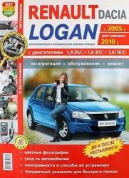 Автомобили Renault / Dacia Logan с 2005 г., рестайлинг 2010 г.). Эксплуатация, обслуживание, ремонт: практическое пособие