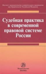 Судебная практика в современной правовой системе России : монография