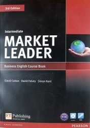Market Leader: Intermediate: Business English Course Book (+ DVD-ROM)