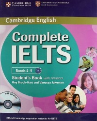 Complete IELTS: Bands 4-5: Student's Book with Answers (+ CD-ROM)