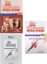 On Screen B2 + Teacher's Book + Writing Book + Writing Book Key (комплект из 3-х книг в упаковке)