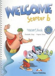 Welcome Starter b. Teacher's Book (with posters). Книга для учителя с постерами