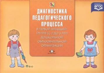 Диагностика педагогического процесса в первой младшей группе (с 2 до 3 лет) дошкольной образовательной организации