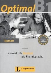 Optimal B1. Lehrwerk fur Deutsch als Fremdsprache: Testheft (+ CD)