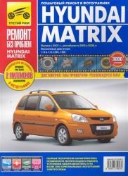 Hyundai Matrix. Руководство по эксплуатации, техническому обслуживанию и ремонту