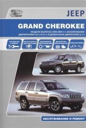 Jeep Grand Cherokee. Модели выпуска 1999-2004 гг. с бензиновыми двигателями 4,0 л. И 4,7 л. И дизельным двигателем 2,7 л. Обслуживание и ремонт