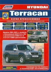 Hyundai Terracan. Модели 2001-2007 гг. Руководство по ремонту и техническому обслуживанию