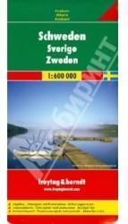 Schweden. 1:600 000