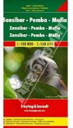 Sansibar - Pemba - Mafia. 1:100 000 - 1:150 000
