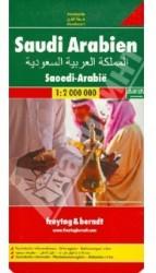Saudi Arabien. 1:2 000 000