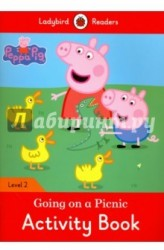 Peppa Pig: Going on a Picnic: Activity Book: Level 2
