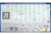 Автомобильные коды регионов РФ. Настольное издание