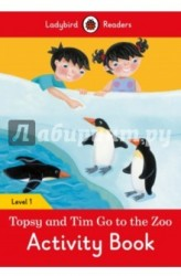 Topsy and Tim: Go to the Zoo: Activity Book: Level 1