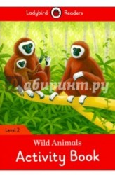 Wild Animals Activity Book - Ladybird Readers Level 2