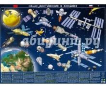 Детская космическая карта. Наши достижения в космосе