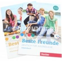 Beste Freunde. Deutsch fur jugendliche. A1.1 + A1.2. Arbeitsbuch (+CD)