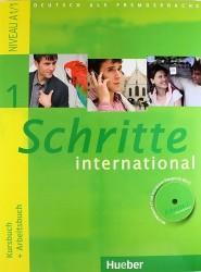 Deutsch als Fremdsprache. Kursbuch + Arbeitsbuch. Schritte 1 international + CD