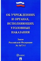 """Закон Российской Федерации """"Об учреждениях и органах, исполняющих уголовные наказания в виде лишения свободы"""""""