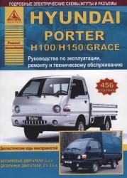 Hyundai Porter H100/Н150/Grace. Руководство по эксплуатации, техническому обслуживанию и ремонту