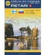 Karjalan kannas, Pietari: Карельский перешеек,Санкт-Петербург(финский русский язык.): Карта