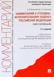 Комментарий к Уголовно-исполнительному кодексу Российской Федерации (постатейный). 3-е издание, переработанное и дополненное