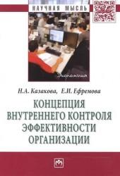Концепция внутреннего контроля эффективности организации: Монография