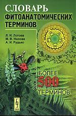 Словарь фитоанатомических терминов