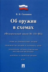 Об оружии в схемах (Федеральный закон №150-ФЗ). Учебное пособие