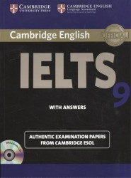 Cambridge English IELTS 9. Authentic examination papers from Cambridge ESOL. With Answers (+2CD)