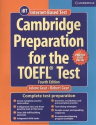 Cambridge Preparation for the TOEFL Test: Book with Online Practice Tests: Fourth Edition