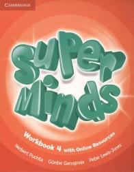 Super Minds. Level 4. Workbook (книга на английском языке)