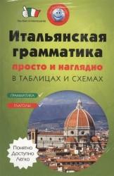 Итальянская грамматика просто и наглядно в таблицах и схемах. Грамматика. Глаголы (комплект из 2 книг)